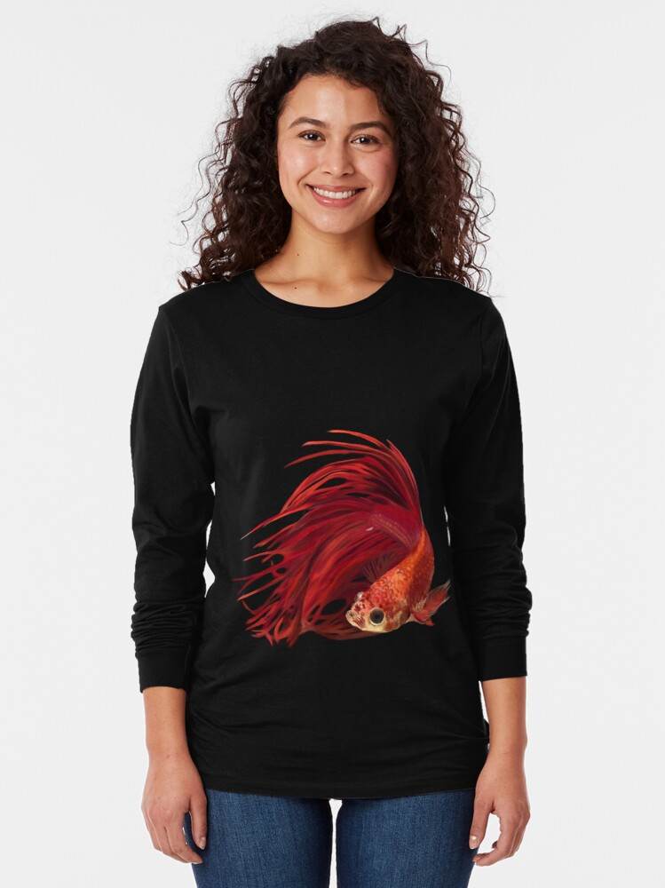 Alternate view of FanTail Long Sleeve T-Shirt