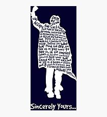 The Breakfast Club - Sincerely Yours - White Photographic Print