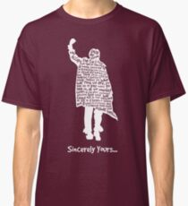 The Breakfast Club - Sincerely Yours - White Classic T-Shirt