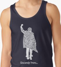 The Breakfast Club - Sincerely Yours - White Tank Top
