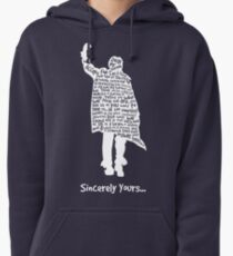 The Breakfast Club - Sincerely Yours - White Pullover Hoodie