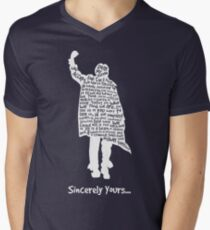 The Breakfast Club - Sincerely Yours - White Men's V-Neck T-Shirt