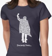 The Breakfast Club - Sincerely Yours - White Women's Fitted T-Shirt