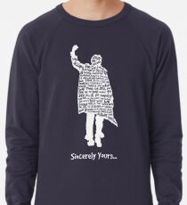 The Breakfast Club - Sincerely Yours - White Lightweight Sweatshirt