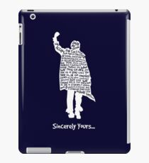 The Breakfast Club - Sincerely Yours - White iPad Case/Skin