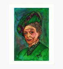 Dowager Countess Art Print