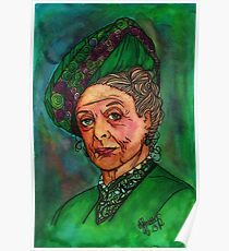 Dowager Countess Poster
