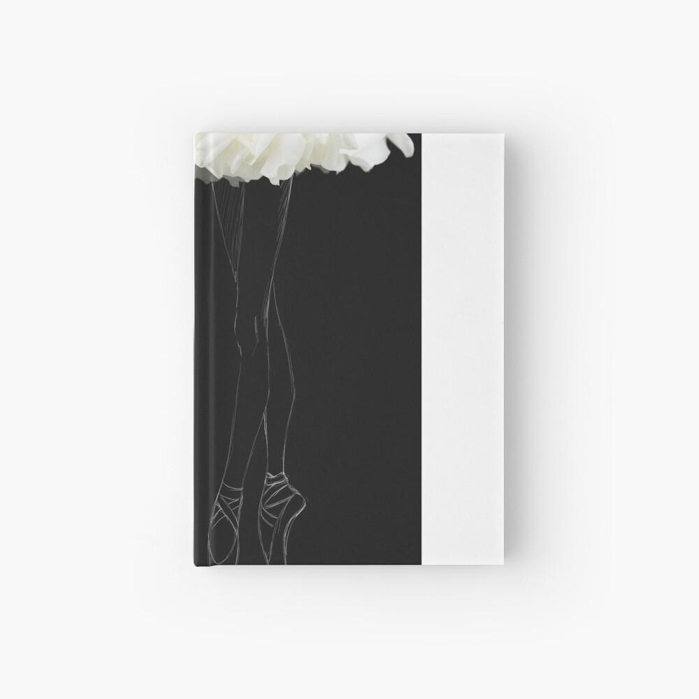 En pointes ballerinas Hardcover Journal