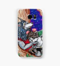 Pandaren and Worgen Cuddles Samsung Galaxy Case/Skin