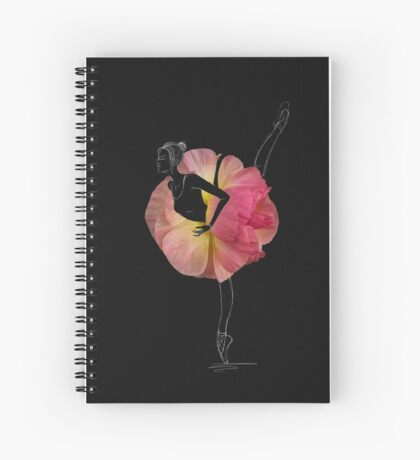 Ballerina en pointes Spiral Notebook