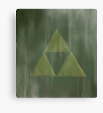 Gritty Triforce Canvas Print