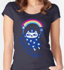MAGICAT Women's Fitted Scoop T-Shirt