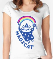 MAGICAT Women's Fitted Scoop T-Shirt