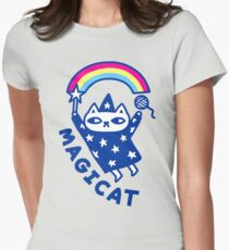MAGICAT Womens Fitted T-Shirt