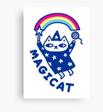 MAGICAT Canvas Print