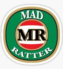 Madratter Victoria Bitter  - Original Design Sticker