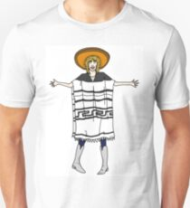 Poncho Vince Noir T-Shirt