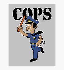 Springfield Cops Photographic Print