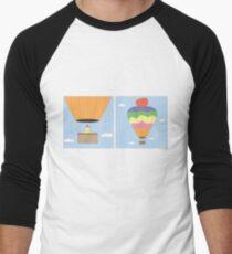 Sikh Air Balloon Men's Baseball ¾ T-Shirt