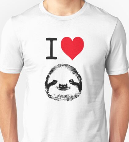I Love Sloths T-Shirt