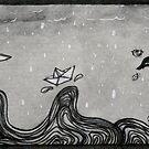 Paper Sea  by Rayne Karfonta