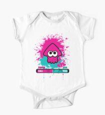 Body de manga corta para bebé Splatoon para niños o calamar