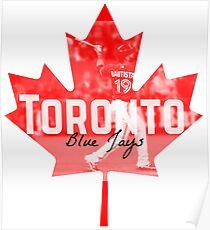 Toronto Blue Jays Canada Poster