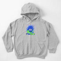 Sudadera con capucha para niños Splatoon para niños o calamar