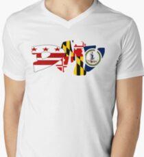 DMV Men's V-Neck T-Shirt