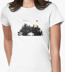 City Moonrise Women's Fitted T-Shirt