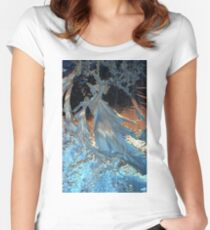 Blue Frost Women's Fitted Scoop T-Shirt