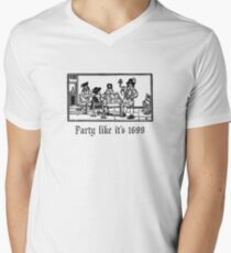PartyLikeIt's1699 Men's V-Neck T-Shirt