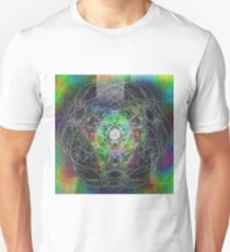Psyche - Psychedelic Digital Abstract Unisex T-Shirt