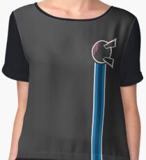 EPCOT Center Spaceship Earth (Vertical) Chiffon Top