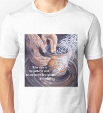 In the Potter's Hands with Scripture Unisex T-Shirt
