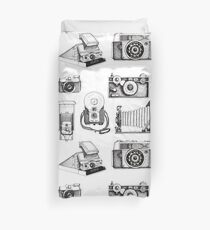 Vintage Camera Collection Duvet Cover