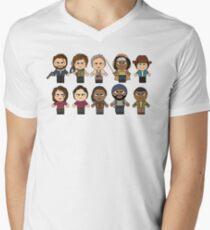 The Walking Dead - Main Characters Chibi - AMC Walking Dead T-Shirt