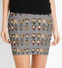 The Walking Dead - Main Characters Chibi - AMC Walking Dead Mini Skirt