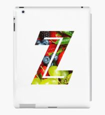 The Letter Z - Fruit iPad Case/Skin