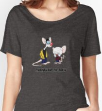 Pinkman and the brain - Breaking Bad/ Pinky and the brain Women's Relaxed Fit T-Shirt