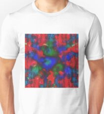 """Chains"" - Psychedelic Digital Art Unisex T-Shirt"