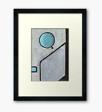 Cyberman Framed Print