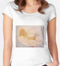 Guardian Angel Women's Fitted Scoop T-Shirt