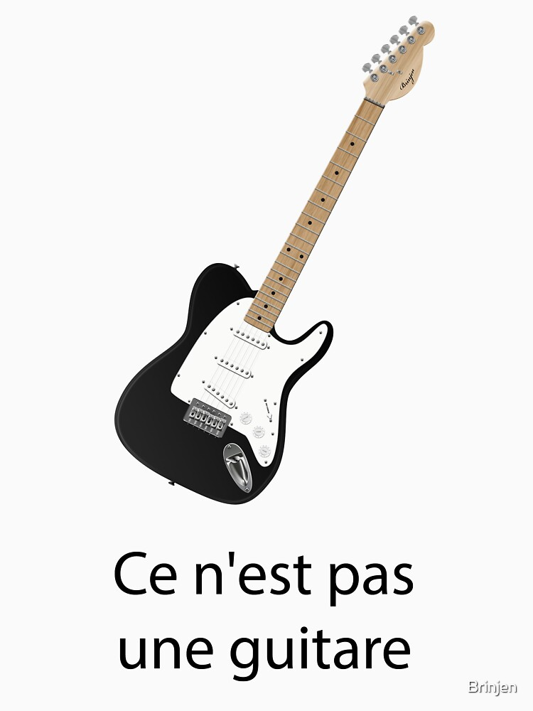 Ce n'est pas une guitare by Brinjen