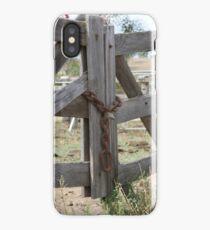 Old Gate iPhone Case/Skin