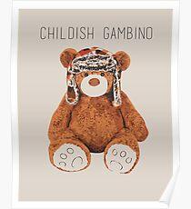 Gambino Bear Poster