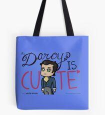 Cute Mr. Darcy Tote Bag