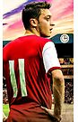 Vintage Mesut Ozil by Mark White