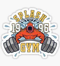Splash Gym Sticker