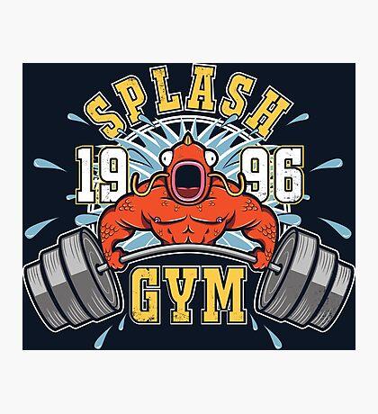 Splash Gym Photographic Print